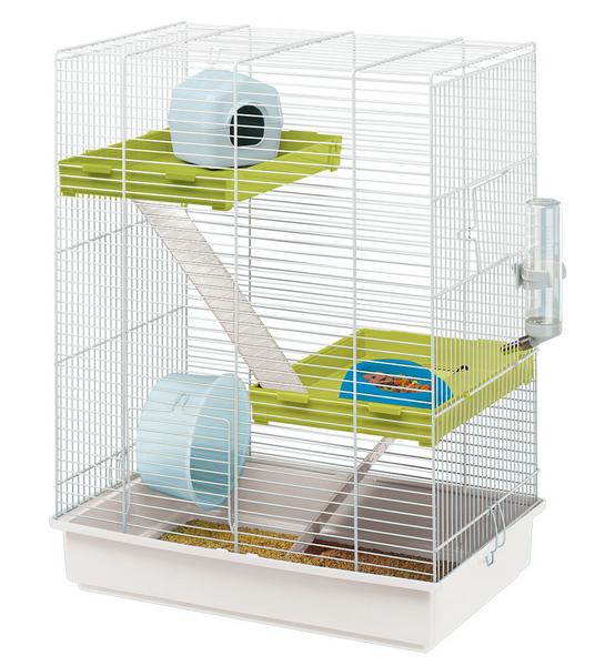 Ферпласт Клетка для мелких грызунов Hamster Tris, 46*29*58 см, Ferplast