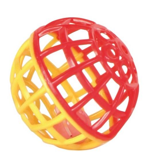 Трикси Игрушка для птиц Пластиковый шарик, диаметр 5 см, Trixie