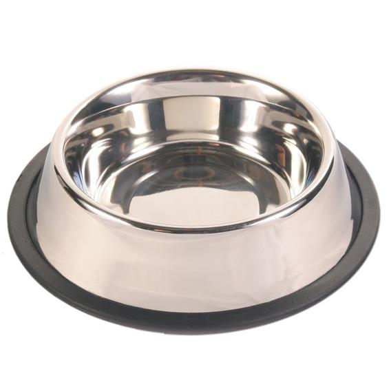 Трикси Миска металлическая для собак, 5 объемов, Trixie