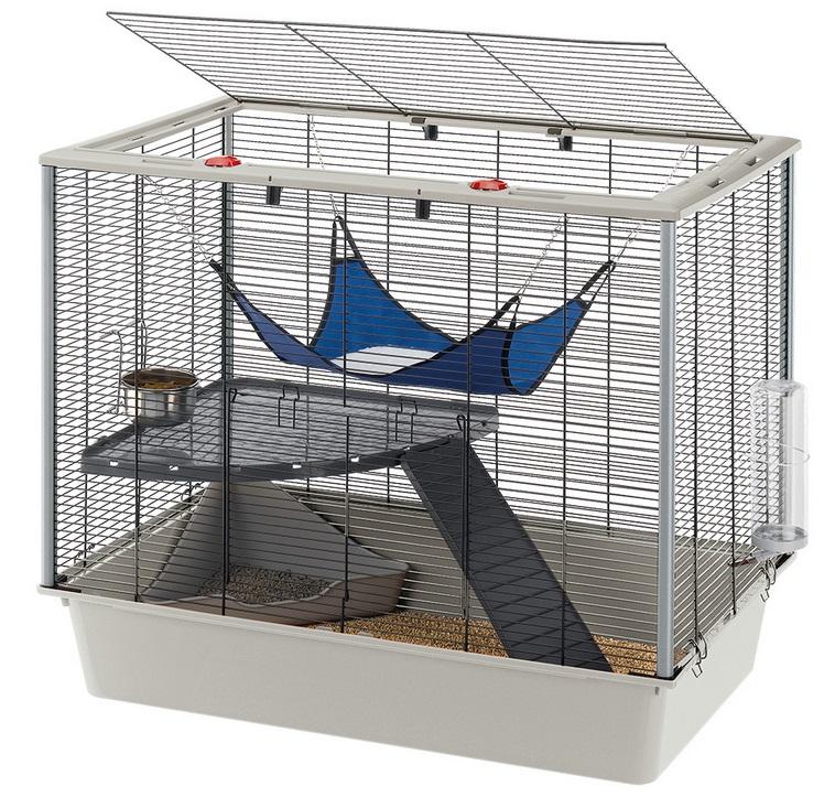 Ферпласт Клетка Furet (Furat) с открывающимся верхом для грызунов и хорьков, 78*48*70 см, Ferplast
