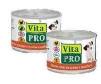 ВитаПро Консервы для собак от 1 года, в ассортименте, 6*200 г, VitaPro