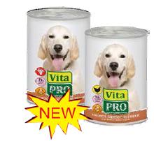 ВитаПро Консервы для собак от 1 года, в ассортименте, 6*400 г, VitaPro