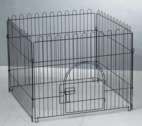 Триол Вольер металлический с дверкой, эмаль, в ассортименте, Triol