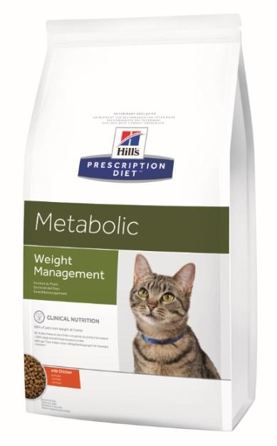 Корм Хиллс Prescription Diet Feline Metabolic Диета для кошек для коррекции веса, Hills