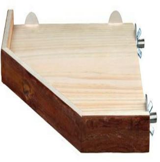 Трикси Полка-этаж угловая деревянная, серия Natural Living, 3 размера, Trixie