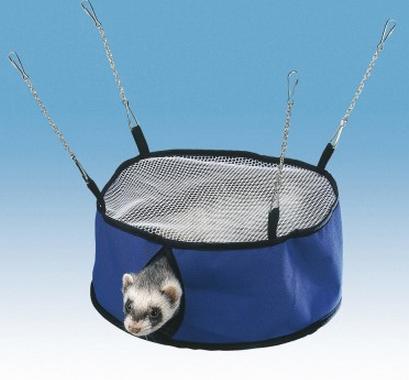 Ферпласт Подвесная палатка для хорьков и грызунов, 26*10,5 см, Ferplast