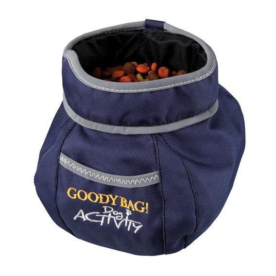 Трикси Закрывающаяся сумка для лакомств Goody Bag с креплением на пояс, нейлон, 11*16 см, Trixie