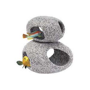 "Пенн Плекс Декорация для аквариума ""Гранитная галька"", 3 размера, Penn-Plax"