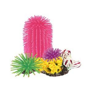 "Фауна Интернешнл Декорация для аквариума ""Кораллы на рифе"", 3 вида, Fauna International"