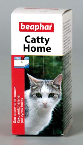 Беафар Капли Catty Home для приучения котят и кошек к месту, 10 мл, Beaphar