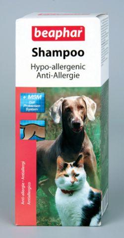 Беафар Гипоаллергенный шампунь Shampoo Hypo-allergenic для кошек и собак, 200 мл, Beaphar