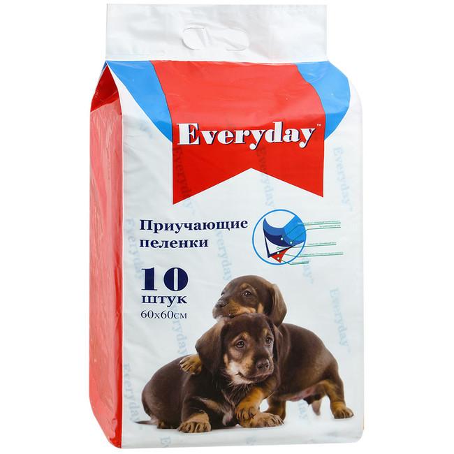 Эвридей Приучающие гелевые пеленки для животных, в ассортименте, EveryDay