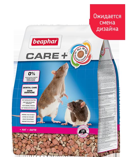 Беафар Корм супер-премиум класса для крыс Care+ Rat Food, в ассортименте, Beaphar
