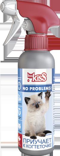 Миссис Кисс Спрей с распылителем Приучает к когтеточке для кошек, 200 мл, Ms.Kiss