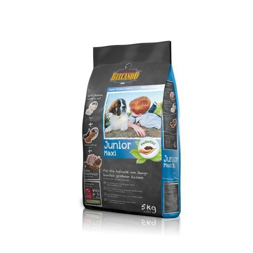 Белькандо Корм сухой корм для щенков крупных и гигантских пород Junior Maxi с 4 до 18 месяцев, в ассортименте, Belcando