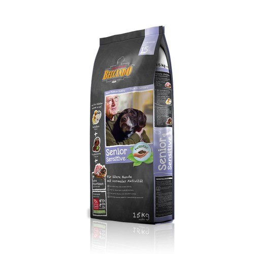 Белькандо Корм сухой для собак пожилого возраста, собак с чувствительным пищеварением Senior Sensitive, в ассортименте, Belcando