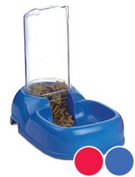 Триол Автокормушка для животных, вмещает 200 г корма, 19*20*12 см, Triol