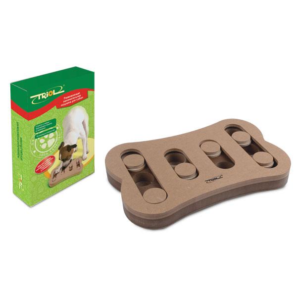 Триол Развивающая игрушка для собак Спрячь и найди, 30*19*3,4 см, Triol