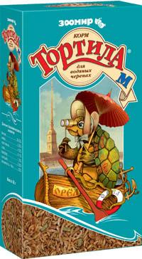 Зоомир Корм Тортила-М для водяных черепах, земноводных, ящериц, 50 г