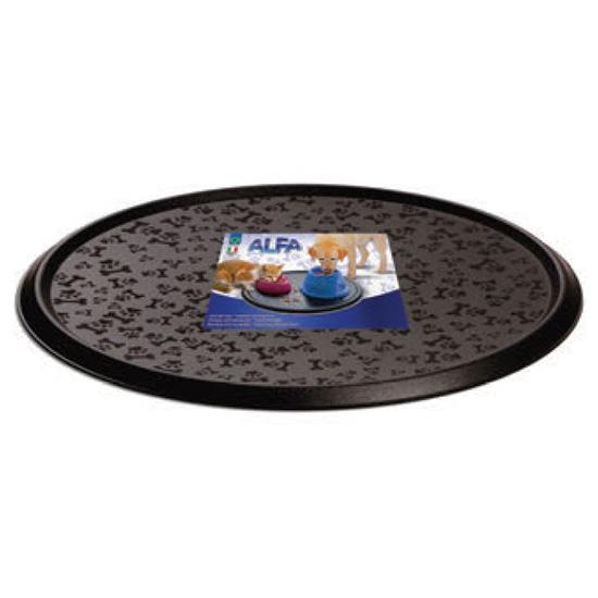 Георпласт Круглый коврик Alfa под миски, для кошек и собак, диаметр 31 см, Georplast