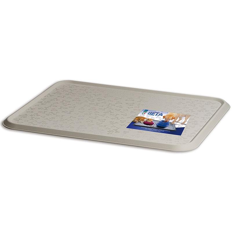 Георпласт Прямоугольный коврик Beta под миски, для кошек и собак, 45*35 см, в ассортименте. Georplast