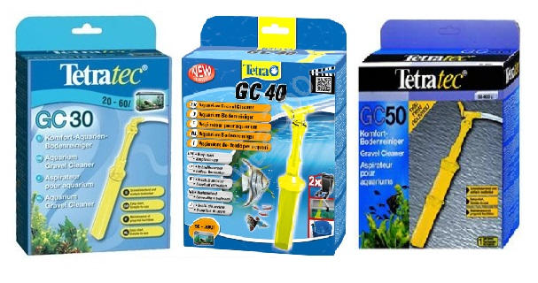 Тетра Сифон (грунтоочиститель) TetraTec GC для чистки грунта, 3 размера, Tetra