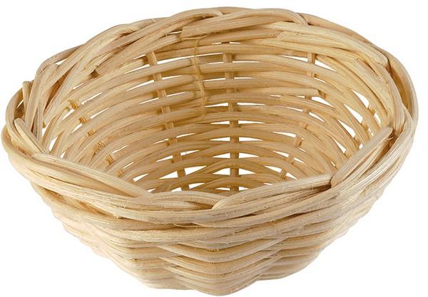 Имак Гнездо-вкладка плетеное Nido Vimini, диаметр 10 см, высота 5,5 см Imac