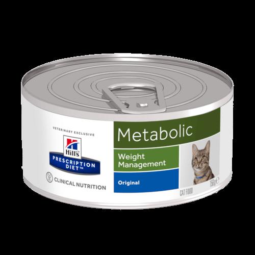Консервы Хиллс Prescription Metabolic Weight Management для кошек, коррекция веса, 156 г, Hills