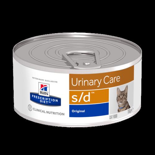 Консервы Хиллс Prescription Diet s/d Urinary Care для кошек при струвитах, 156 г, Hills