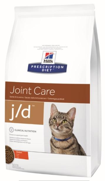 Корм Хиллс Prescription Feline j/d сухой для кошек при заболеваниях суставов, 2 кг, Hills