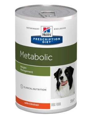 Консервы Хиллс Prescription Diet Metabolic Weight Management для коррекции веса у собак, 370 г, Hills