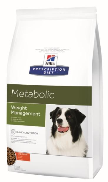 Корм Хиллс Prescription Diet Metabolic сухой для коррекции веса у собак, 2 весовки, Hills