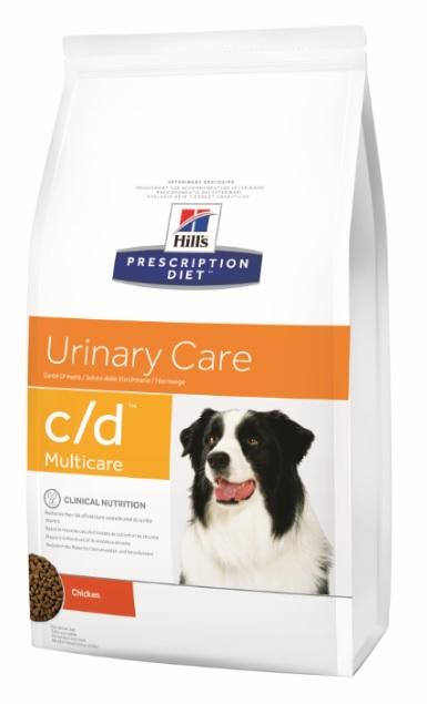 Корм Хиллс Prescription Diet c/d сухой для собак при заболеваниях мочевыводящей системы, струвитах, профилактика МКБ, в ассортименте, Hills