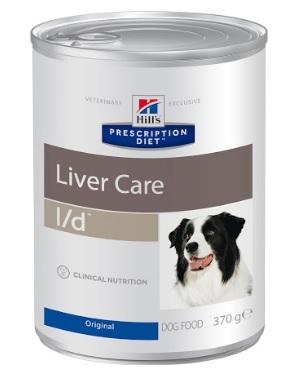 Консервы Хиллс Prescription Diet l/d Liver Care для собак с заболеваниями печени, 370 г, Hills