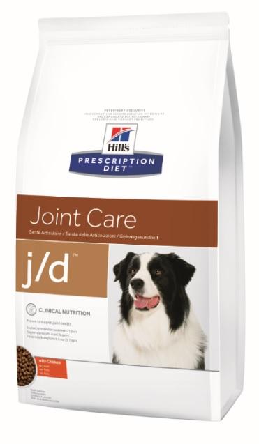 Корм Хиллс Prescription Diet j/d сухой для собак при заболеваниях суставов, в ассортименте, Hills