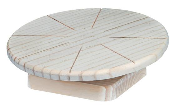 Трикси Деревянный диск для бега грызунов, диаметр 20 см, Trixie