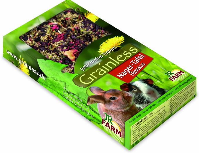 JR Farm Grainless Плитка беззерновая с гибискусом, 150 г