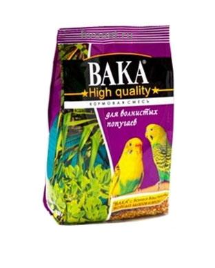 Вака корм для волнистых попугаев High Quality, 500 г