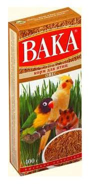 Вака ОВЕС для птиц и грызунов, 400 г