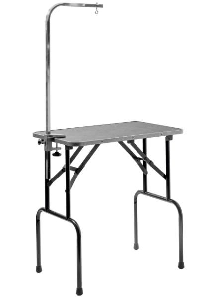 ЗооУан Грумерский стол Профи складной серый с кронштейном, в ассортименте, ZooOne