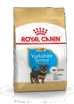 Корм Роял Канин для щенков породы йоркширский терьер в возрасте до 10 месяцев, Yorkshire Terrier Puppy, в ассортименте, Royal Canin