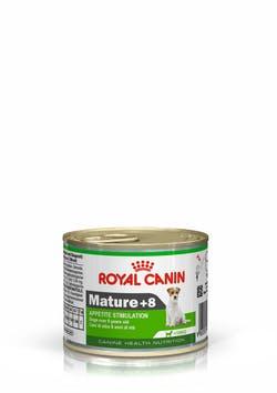 Влажный корм (паштет) Роял Канин для пожилых собак мелких пород старше 8 лет, Mature 8+, 12*195 г, Royal Canin