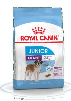 Корм Роял Канин Giant Junior для щенков собак гигантских пород от 8 до 24 месяцев, в ассортименте, Royal Canin