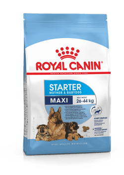 Корм Роял Канин MAXI Starter для щенков собак крупных пород (вес взрослой собаки 26-44 кг) в период отъема до 2-месячного возраста, в ассортименте, Royal Canin