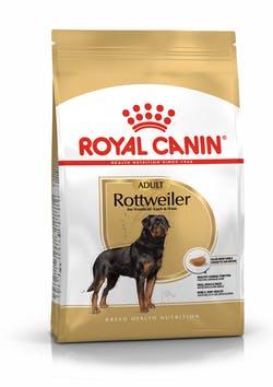 Корм Роял Канин сухой для взрослых собак породы Ротвейлер в возрасте с 18 месяцев Rottweiler, 12 кг, Royal Canin