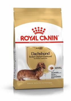 Корм Роял Канин сухой для взрослых собак породы Такса старше 10 месяцев, Dachshund Adult, в ассортименте, Royal Canin