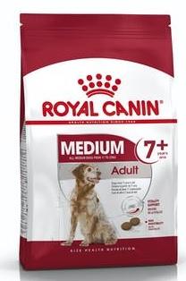 Корм Роял Канин MEDIUM Adult 7+ сухой для собак средних пород старше 7 лет, в ассортименте, Royal Canin