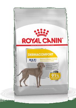 Корм Роял Канин MAXI Dermacomfort сухой для взрослых собак крупных пород, при раздражениях кожи и зуде, в ассортименте, Royal Canin