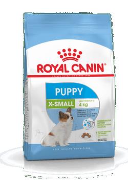 Корм Роял Канин X-SMALL Puppy сухой для щенков миниатюрных пород от 2 до 10 месяцев, в ассортименте, Royal Canin