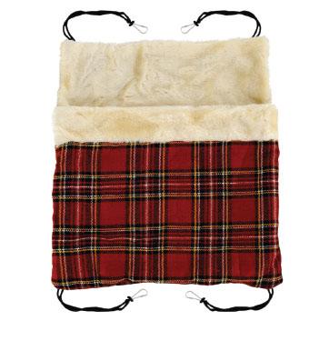 Триол Гамак-карман TB-14 для хорьков и грызунов, твид и плюш, 32*32 см, Triol